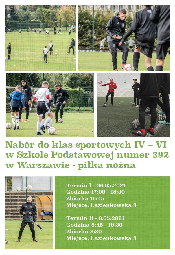 Nabór do klas sportowych IV-VI