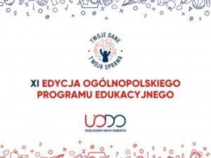 XI Edycja Ogólnopolskiego Programu Edukacyjnego